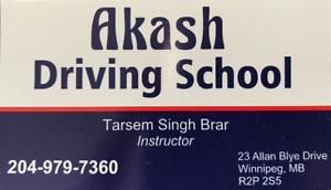 Class 5 Driving Lessons (Akash Driving School)