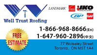 WellTrust Roofing - professional and affordable!