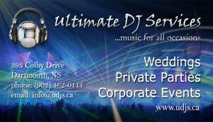 Ultimate DJ Services - Wedding and Event DJ