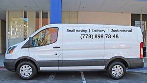 40$ /hour ________ Small moving | Delivery | Junk removal