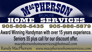 MacPherson Home Services Peterborough Peterborough Area image 1