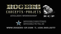 ROGERS Concepts-Projets  |  ATELIER Conception & Fabrication