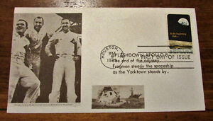 1969 APOLLO 8 FIVE (5) Different 6 Cent First Day Covers Kitchener / Waterloo Kitchener Area image 6