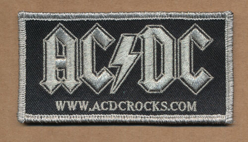 AC/DC promo iron-on patch