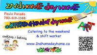 Lake Summerside Day Home. Available Weekday/Ends/Evenings