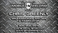 GREENLY'S Mobile Welding and Fabrication
