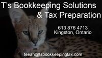 Bookkeeping Solutions  & Tax preparation