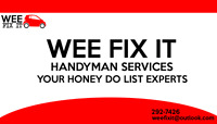 DO YOU NEED IT REPAIRED NOW. 292-7426