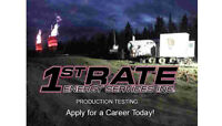 1st Rate Energy Services- Production Testing-Now Hiring - Edson