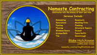 Namaste Contracting - General Contracting Services