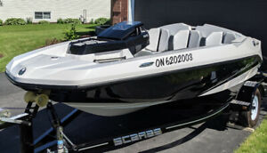2018  Scarab 165 Ghost Rotax 150HP and trailer