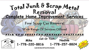 Total Junk & Scrap Metal Removal