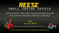 LAWNMOWER/TRACTOR/SNOWBLOWER/MORE SERVICE AND REPAIRS