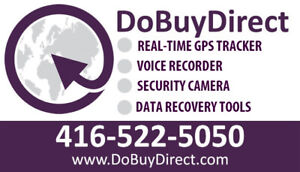 GPS TRACKER/AUDIO VIDEO RECORDER/SECURITY CAMERA/DATA RECOVERY!