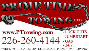 Tow Truck, Wrecker Operator    Prime Time Towing Ltd. Windsor Region Ontario image 1