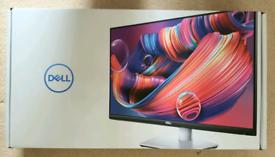 "Dell S2421HS 24"" FHD 1080p IPS Ultra-Thin Bezel Monitor Silver-Black"