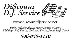 Discount DJ Service Any Events Disc Jockey DJ