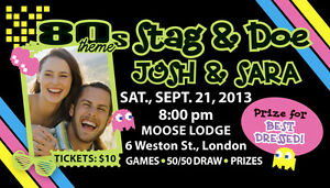 STAG and DOE TICKETS - 500 FULL COLOUR only $80!! Cambridge Kitchener Area image 2
