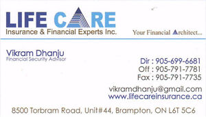 Visitor / Super Visa Insurance - We beat any quote by 10%, RESP Kitchener / Waterloo Kitchener Area image 1