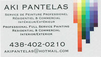 Peintre / Professional Painter Looking For Contracts