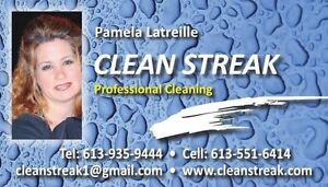 Clean Streak Professional Cleaning Services Cornwall Ontario image 1