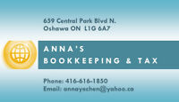 Anna's Bookkeeping & Tax Service