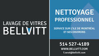 Lavage de vitres - Window cleaning