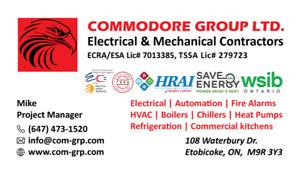 MASTER ELECTRICIAN, HVAC, WALK-IN COOLER, CONDO HEAT PUMP, GAS L