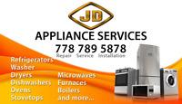 APPLIANCE REPAIRING / INSTALLATION / SERVICING