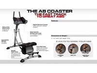 Ab Coaster Excercise Machine - Good As New Only £35!!