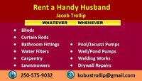 Rent a Handyman - anytime, any job !!