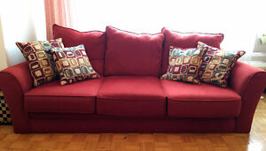Sofa and Loveseat and Chair
