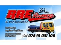 Recovery service & car transport