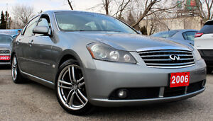 2006 INFINITI M45 SPORT - FULLY LOADED - NAVIGATION - CERTIFIED