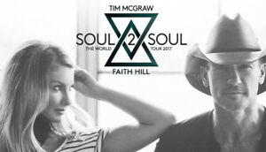 Tim McGraw & Faith Hill- 11TH ROW FLOORS- Hamilton- June 18