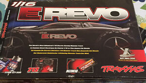 Traxxas 1/16 E Revo RC vehicle