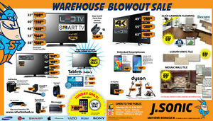 J Sonic's Warehouse Blowout Sale Feb 24-25-26