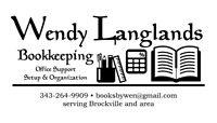 Behind on taxes?  Wendy Langlands Bookkeeping can help