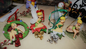 Disney Christmas tree ornaments Tinkerbell