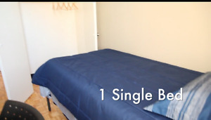 One furnished bedroom- female sublet-may 1st