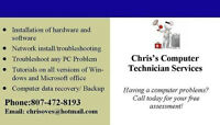 Chris's Computer Repair- Free Assessments! Cheap Rates!