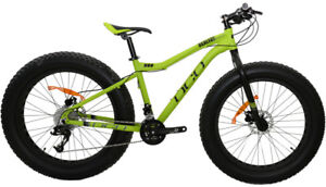 NEW DCO RealFat Brother Matte Green Fat Bike