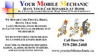 Have your car repaired at home