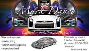 Audio installations/custom automotive painting/airbrush design Strathcona County Edmonton Area image 1