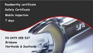 Mobile Roadworthy Certificates