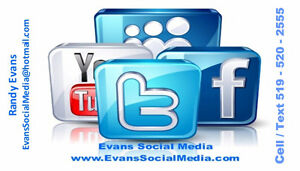 Starting at $25 for your own Website & Social Media. London Ontario image 2