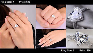**BRAND NEW** Engagement Rings Promise Rings LOTS TO CHOOSE FROM Cambridge Kitchener Area image 1