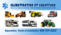 CLIMATISATION  SERVICES MOBILE