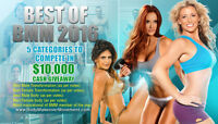 $10,000 in cash to be won for getting in shape