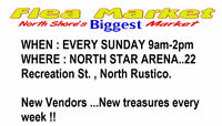 GIGANTIC MARKET THIS SUNDAY... OVER 100 TABLES !!